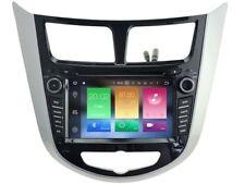 Android 8.0 GPS Navi Wifi DVD Radio For Hyundai i25 Verna Solaris Accent 2011+