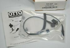NEW OTTO V1-10305 Earphone Kit Black with 3.5mm Plug & Coiled Cord