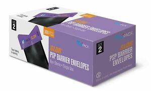 Phosphor Plate Barrier Envelopes Dental X-Ray Imaging Easy Size 0, 1, 2 UniPack