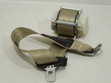 VW EOS 1F OS Right Rear Seat Belt Cream Beige 1Q0857806