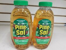 PINE-SOL Disinfectant Anti-Bacterial 2 bottles 9.5 oz kills viruses 99.9%