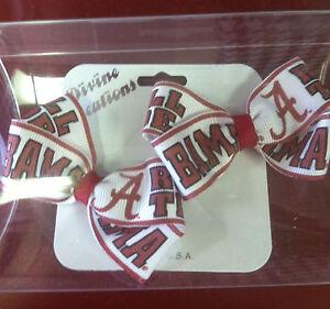 "University of Alabama Baby ""Bama"" Hair Bows"
