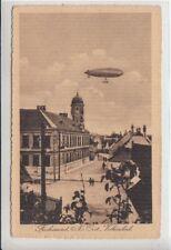 75162/24- Fischamend mit Volksschule, Zeppelin, Bezirk Bruck an der Leitha