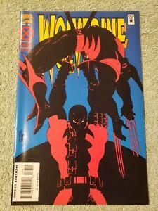 Wolverine 88 VF+ Marvel Comics 1994 Deadpool