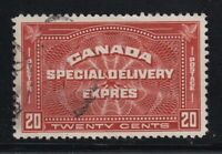 CANADA NO  E4,  SPECIAL DELIVERY,  VF USED
