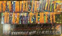 1995 Marvel Overpower Card Game Lot. Huge collection of 1600+ cards