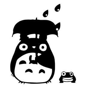 Dust Bunny Vinyl Decals My Neighbor Totoro Frog Umbrella Studio Ghibli Stickers