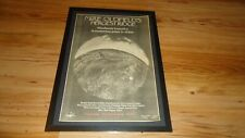 MIKE OLDFIELD hergest ridge-framed original poster sized advert