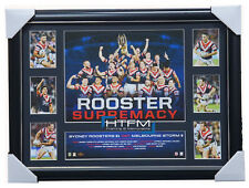 Sydney Roosters 2018 Premiers Official Roosters Supremacy Tribute Print Framed
