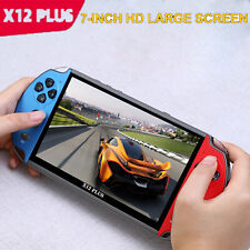 X12 Plus 7inch Portable Handheld Game Console Dual Joystick 16GB TV Out HD Video