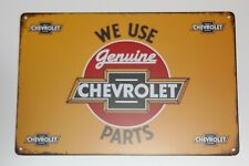 Chevi Chevrolet  Vintage Style USA Retro Metall Deko Schild