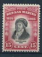 San Marino 1935 Sass. 196 Nuovo ** 100% Melchiorre Delfico