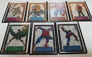 1994 Suspended Animation lot of 7 cards Spider-man Hobgoblin Chameleon Black Cat