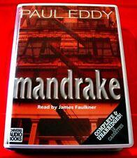 Paul Eddy Mandrake Grace Flint 12-Tape UNABR.Audio Book James Faulkner Thriller