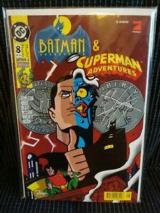 Batman & Superman Adventures #8 - DC / Dino Comics - 1998