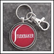 Vintage Studebaker shoulder patch photo keychain men's gift 🎁
