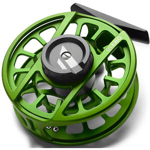 NEW ORVIS HYDROS II FLY REEL MATTE GREEN FOR 3, 4 OR 5 WEIGHT ROD - FREE US SHIP
