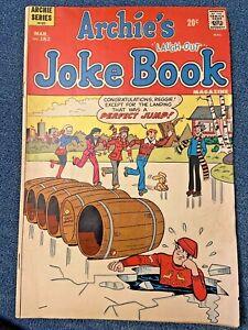 "Vintage ""ARCHIE'S JOKE BOOK"" Comic Book (1953 Series) Issue #182, 1973"