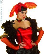 Widmann 1478g Gants À Maille Dame del Saloon Rouge 33cm