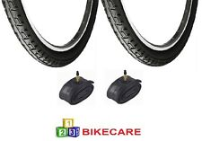 Pair Of 28x1 5/8 x1 3/8 Road Tyres With Tyre Tubes MI-2705-7
