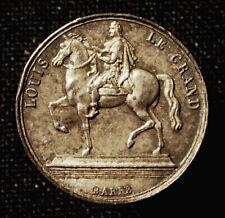 Frankreich, Charles X., Miniatur-Silbermedaille 1825 Paris, v. Barre
