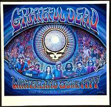 MINT EMEK Grateful Dead 1977 Winterland Giclee Poster 73/375