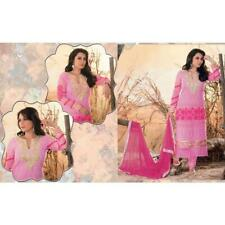Pink Georgette Semi Stitched Salwar Suits dress Alpita - 1808