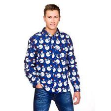 Camisas y polos de hombre azul talla L color principal multicolor