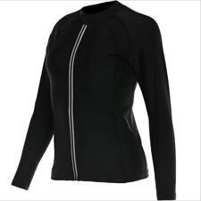 Women's Sweat Suits Zipper Body Shape Fitness Running Clothes Sauna Suits