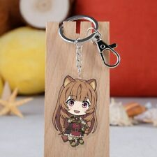The Rising of the Shield Hero Raphtalia Key Chain Keychain Key Ring Pendant Gift