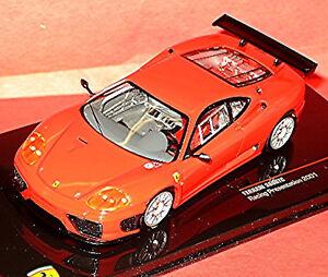 Ferrari 360 GTC Racing Presentation 2001 Street Version Red 1:43 Ixo FER028