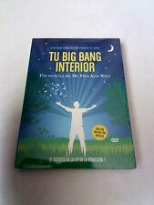 """DVD """"TU BIG BANG INTERIROR"""" PRECINTADO SEALED DR FRED ALAN WOLF EL SECRETO DE LA"""