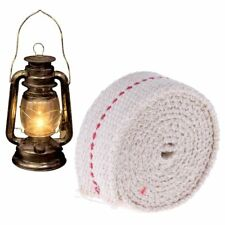 1M Premium Oil Lamp Mate Flat Cotton Oil Lantern Kerosene Lamp Wick Red Stitch