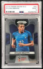 **KYLIAN MBAPPE** 2018 WORLD CUP PRIZM #80 ROOKIE PSA 9 MINT📈🏀