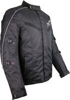 Motorrad Textil Jacke mit Protektoren Wassersicht Motorradjacke Touring