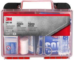 3M Industrial Construction First Aid Kit Emergency Jobsite Work Health 118 Piece