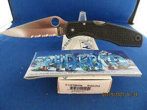 Vintage Spyderco Endura Knife C10PSBK98