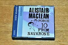 Alistair Maclean. Force 10 From Navarone. Audio Book on 3 CD's. Harper Audio.