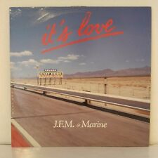 "J.F.M & Marine* ‎– It's Love (Vinyl, 12"", Maxi 45 Tours)"