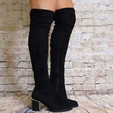 Unbranded Zip Slim Heel Synthetic Boots for Women