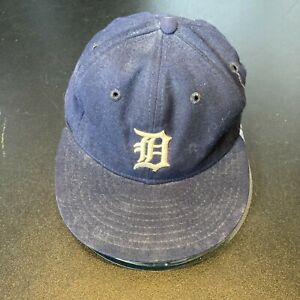 Dan Petry Signed 1980's Detroit Tigers Game Used Baseball Hat With JSA COA