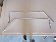 1970 Chevrolet Caprice 2 Door Left Right Drip Rail Molding 6 Piece Set