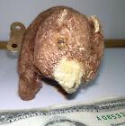 VINTAGE E INCO GIOCHI EINCO TEDDY BEAR BROWN MOHAIR WIND UP ITALIAN TIN TOY FUR