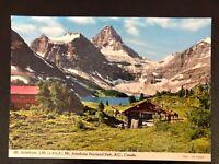 Mt. Assiniboine Provincial Park, British Columbia B.C. Canada Vintage Postcard