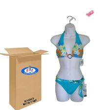 Female Dress White Plastic Mannequin Body Form for Displaying Small Medium Sizes