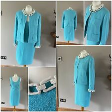 Moschino Cheap And Chic Womens Designer Dress&Jacket Suit Size UK 12
