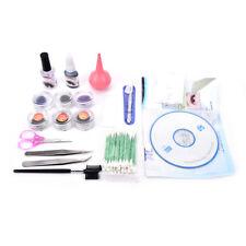 Lash starter kit permanent individual eyelash extensions curl without silverbox#