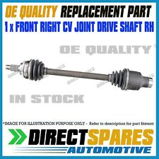 Holden Cruze YG 1.5L HATCHBACK 2002-2006 CV Joint Drive Shaft RIGHT DRIVER RH
