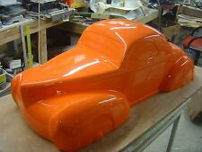 willys coupe 1941 1/4 scale radio control bodyshell fg hpi