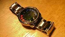 GoldenEye 007 James Bond Wristwatch Custom N64 Watch Stainless Steel Video Game